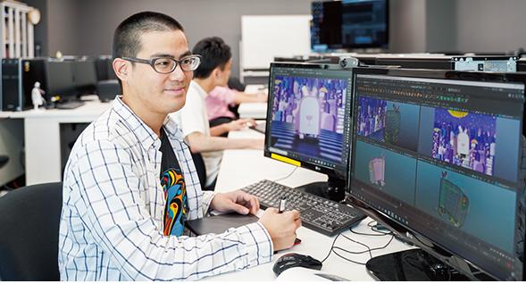 アニメーション3DCGコース